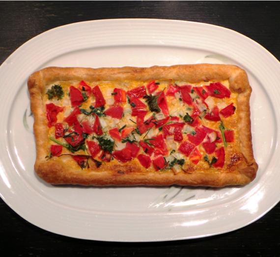 Tartelettes à la tomate et aux herbes aromatiques